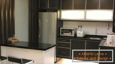 Diseño interior del área de la cocina de 10 m2 (48 fotos del