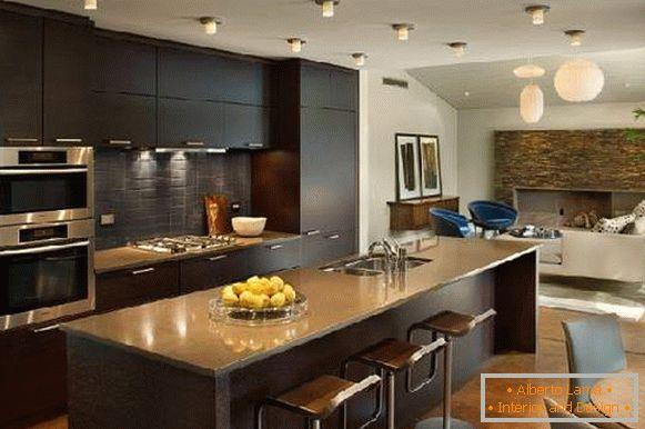 Diseño de cocina 2017: nuevo diseño de interiores para 40