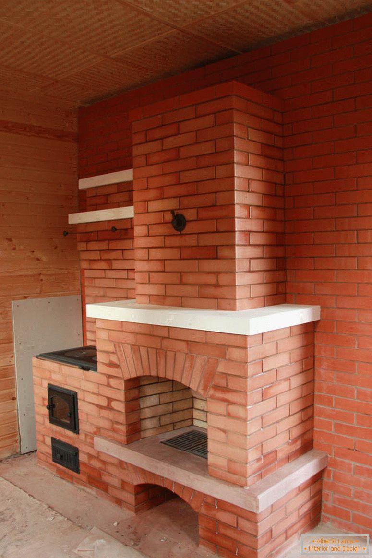 C mo hacer chimeneas hechas de ladrillos 49 fotos - Chimenea ladrillo ...