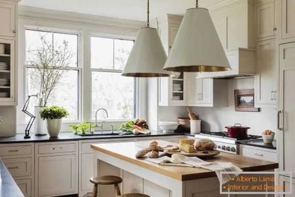 Shaker kitchen design photo 2018 - ideas modernas