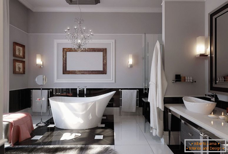 modern-glamorous-baño-stainless-beautiful-chandelier