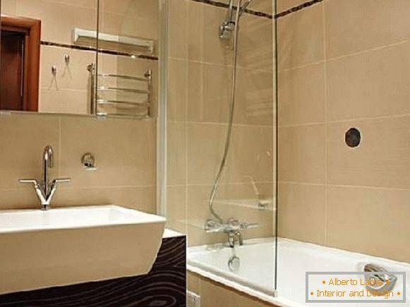 Repare un baño pequeño - 35 fotos de una buena decoración de