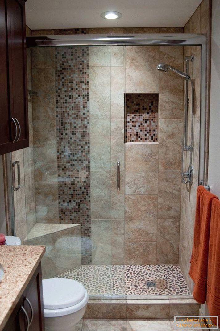 Cuarto de baño khrushchev - cómo decorar un hermoso